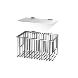 DW WA GTKS 1 Bathroom Shelf / Basket Set in Polished Chrome 10.4""