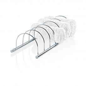 DW 221 Towel Holder for Six Towels in Chrome