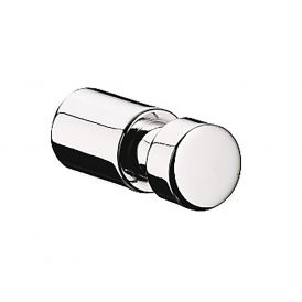 Eposa 0875.001.00 Single Bathroom Hook in Polished Chrome