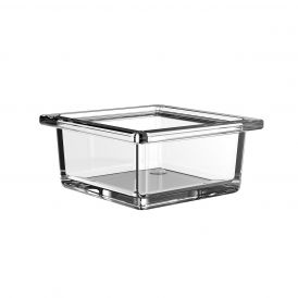 Liaison 1866.000.00 Free Standing Soap Dish in Clear Crystal Glass