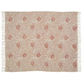 Genevieve Printed Woven Throw by Ashton & Willow