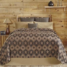 Jefferson Star Chenille Woven Coverlet