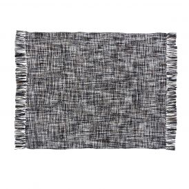 Peppermill Woven Acrylic Throw by Ashton & Willow