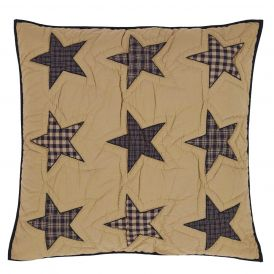 Teton Star Quilted Euro Sham by Ashton & Willow