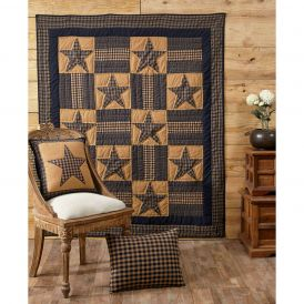 Teton Star Quilted Throw by Ashton & Willow