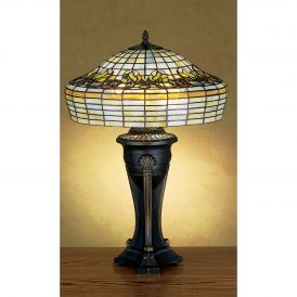 Duffner & Kimberly Raised Tulip Table Lamp