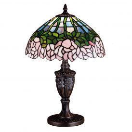 Cabbage Rose Accent Lamp