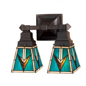 Valencia Mission 2 Light Wall Sconce