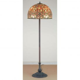Scroll Jadestone Floor Lamp