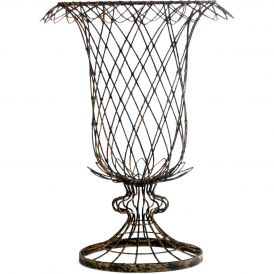 Large Wire Tulip Basket, Set of 2