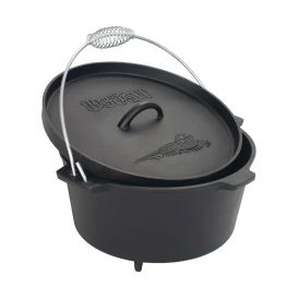 8.5-Qt Camp Dutch Oven with Feet