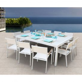 Avallon 11 Piece Dining Set