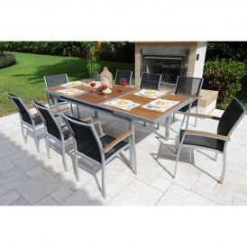 Galliano 9 Piece Dining Set