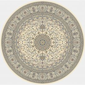 Dynamic Rugs Ancient Garden 57119-6464 Ivory Round Rug