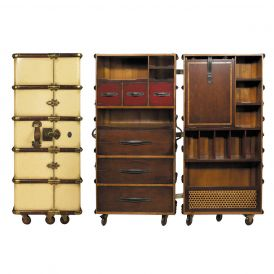 Stateroom MF077 Armoire in Ivory