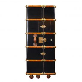 Stateroom MF077B Armoire in Black