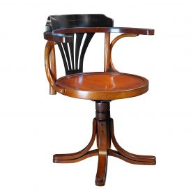 Purser's MF081 Wooden Chair in Black