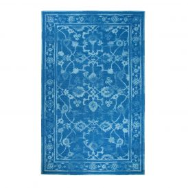 Dynamic Rugs Avalon 88802-591 Dark Blue/Light Blue Rug