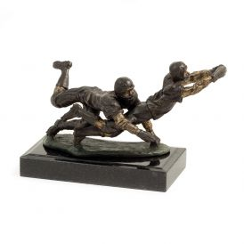 Football Players Sculpture