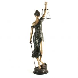 """39"""" Lady Justice Statue"""