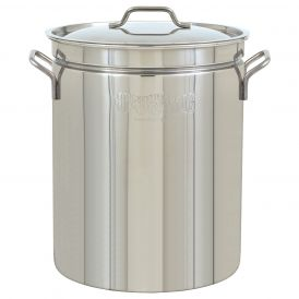 Stainless Steel 62 Quart Stockpot with Lid