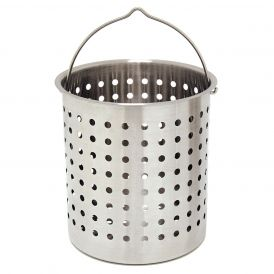 Stainless Steel 36 Quart Perforated Basket