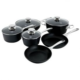 Coquere 10 Piece Aluminum Induction Cookware Set