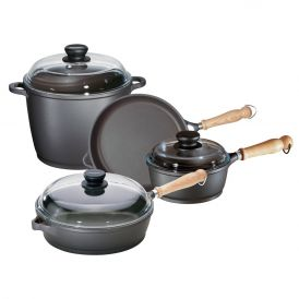 Tradition 7 Piece Aluminum Cookware Set
