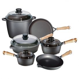 Tradition 10 Piece Aluminum Cookware Set