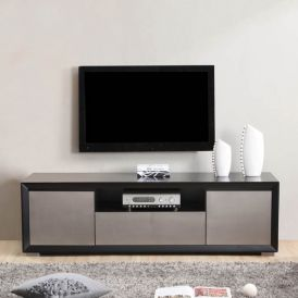 Esquire TV Stand in High Gloss Black