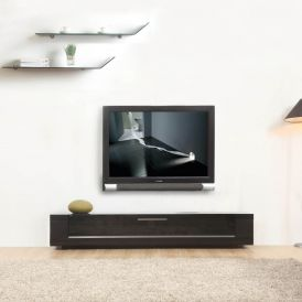 Editor Remix TV Stand in Matte Black