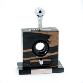 Ebony Table Top Guillotine Cigar Cutter