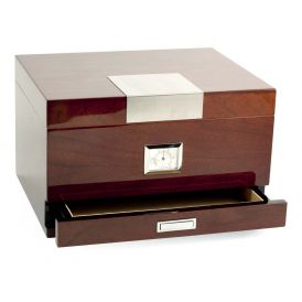 Brown 60 Cigar Humidor