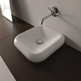 "Cento 3542 Wall Mounted / Vessel Bathroom Sink 15.7"" x 16.1"""