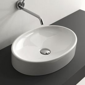 "Cento 3552 Vessel Bathroom Sink 19.7"" x 13.8"""
