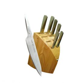 Type 301 PO131 8 Piece Knife Set with Knife Block