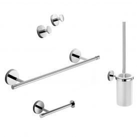 Duemila 5592 Accessory Set in Polished Chrome