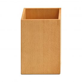 DW WO PKB Waste Basket in Wood