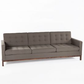 The Dexter Sofa with Walnut Legs