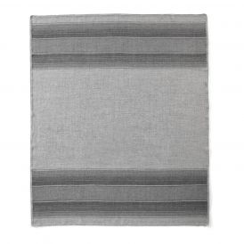 Baby Alpaca Throw in Grey