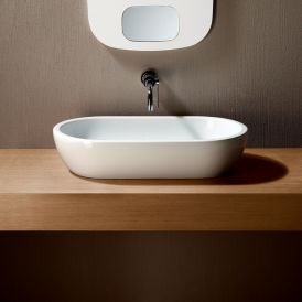 "GSI Panorama Circle 70 Vessel Bathroom Sink 27.6"" x 16.5"""