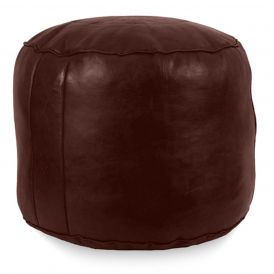 Tabouret Fez Pouf in Chocolate