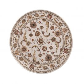 Dynamic Rugs Jewel 70113-100 Beige Round Rug