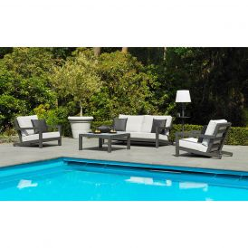 Block Lava 4-Piece Deep Seating Collection