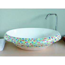LVT 100 Arcobaleno Vessel Bathroom Sink