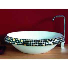 LVT 100 Impero Nero Vessel Bathroom Sink