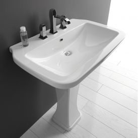 Nova 75C Pedestal Bathroom Sink 29.5""