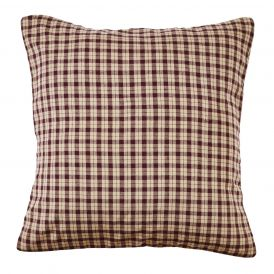 Plum Creek Non Quilted Check Pillow