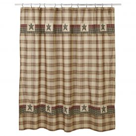 """Plymouth Shower Curtain 72"""" x 72"""""""