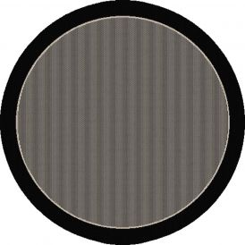 Dynamic Rugs Piazza 2746-3908 Black Round Rug